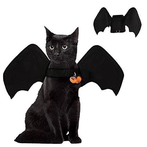 Hugyue Disfraz de murciélago, Disfraz de Gato, Disfraz de Gato para Perro, Ropa de Halloween, murciélago de Cosplay para Mascotas de Halloween