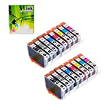 NEXTPAGE Compatible Ink Cartridges Replacement for Canon CLI-42 CLI42 Professional Inkjet PIXMA PRO-100 8 Colors 2 Set 16 PCS