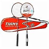 100% de la pleine fibre de carbone chaîne haute tension raquettes de badminton, arbre design compétition professionnelle raquette de badminton, légère graphite unique de raquette de badminton avec le