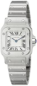 Cartier Women's W20056D6 'Santos' Stainless Steel Casual Watch image