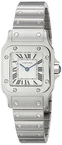 Cartier W20056D6 - Orologio da polso donna, acciaio inox, colore: Argento