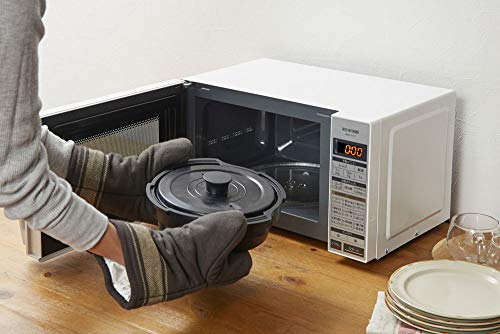 アイリスオーヤマ 電子レンジ 17L ターンテーブル ヘルツフリー 両面焼き 自動グリル調理 自動メニュー グリルクック ホワイト IMGY-T171-W