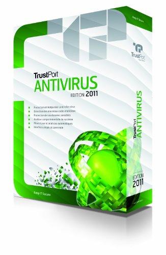 Trustport antivirus 2011 (1 poste, 1 an)