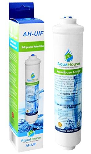 AquaHouse AH-UIF Filtro universal de agua para nevera compatible con Samsung LG Daewoo Rangemaster Beko Haier etc Nevera Congelador