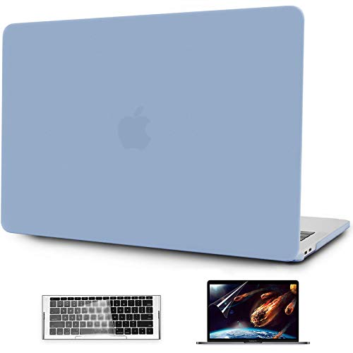 OneGET MacBook Pro 13 Inch Case Laptop Case 2016 2019 A1989 A1706 A1708 A2159 Minimalist Thin Matte PP Hard Shell Cover for Pro13 with Touch Bar (Light Blue)