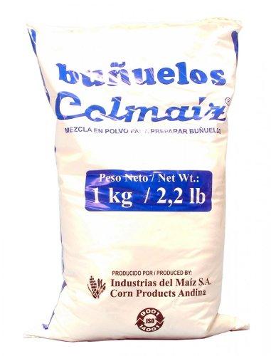 Fertigmischung für kolumbianische Bunuelos, Colmaiz, Beutel 1Kg.