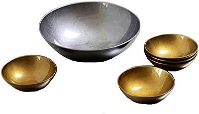 北市漆器店 Gold&SilverパスタボウルセットKZ2687