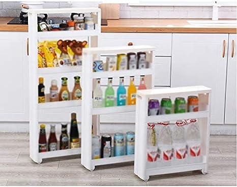 NUOBESTY La cocina resbaladiza ahorra espacio,refrigerador,frigor/ífico,armario,estante fijo para la Oficina del comedor,la casa,el verde.