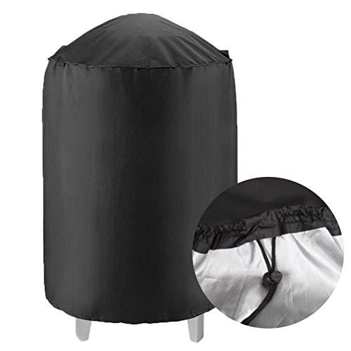 Niocase Housse Barbecue,Bâche Barbecue Ronde,Housse Barbecue Gaz,Housse Bâche Résistante de 210D Oxford Protection BBQ Couverture de Grill Anti-UV,20 * 15 * 3cm