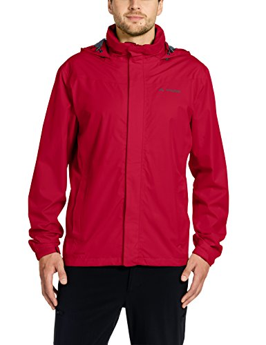VAUDE Herren Men's Escape Bike Light Jacket Jacke, Indian red, XS