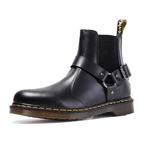 FQLZ Paar Schuhe, Martin Stiefel wasserdichte Arbeitsstiefel, mit kaltbeständigen, rutschfesten, leichten, ganzen...