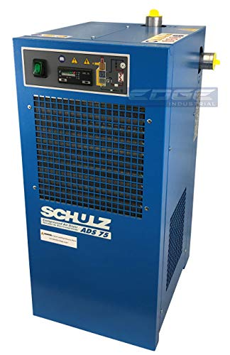 Schulz REFRIGERATED AIR Dryer for AIR Compressor, Compressed AIR Systems, 75 CFM, Good for 15HP & 20HP COMPRESSORS (Stand Alone Dryer)