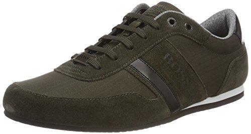 BOSS Herren Lighter_Lowp_Life Sneaker, Grün (Dark Green 308), 39 EU