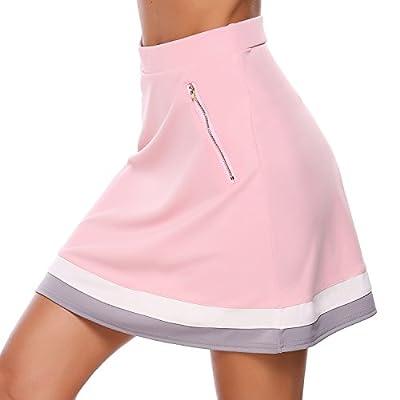 Women Active Yoga Running Tennis Workout UPF 50+ Sport Skirt