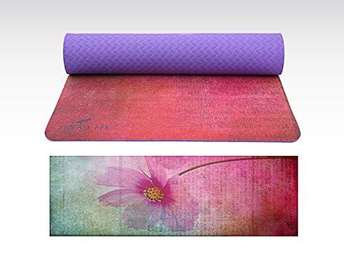 Skyin Yoga matBest NoSlip Hot Yoga MatSGS Approved NoToxicTPEUltra Absorbent MicrofiberSilicon Nonslip SurfaceIdeas for ExerciseYoga and Pilates Loyalty