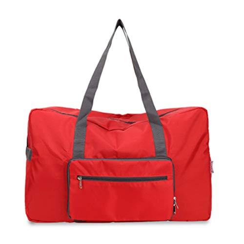 koigjh Folding Travel Bag Simple Portable Hand Luggage Bag Clothing Oxford Textile Storage Bag 55X20X35Cm