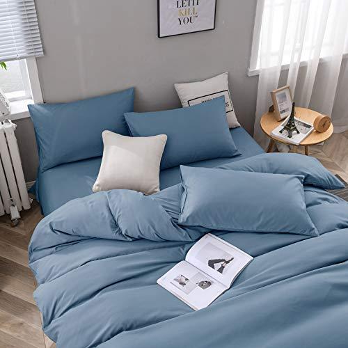 Huyiming Bed Linings gebruikt voor superzachte, 4-delige dekbedovertrekset, effen