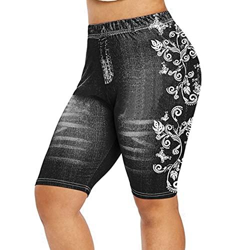 Pantalones cortos deportivos para mujer, pantalones cortos de yoga, pantalones de correr, leggings de cintura alta con bolsillos, control de barriga, leggings de yoga, pantalones de entrenamiento
