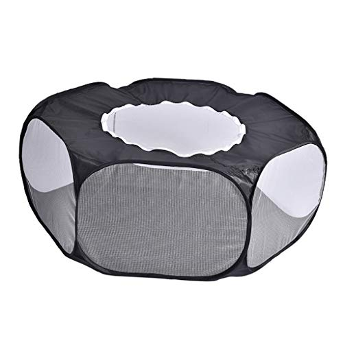 Serenable 1X Guinea Pig Cage Rabbit Cage Indoor/Outdoor Playpen Cage for Small Animal Pet Play Pen Easy to Clean Exercise Yard Fence Portable Tent - 2, 100x52x38cm