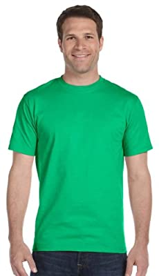 Gildan mens DryBlend 5.6 oz. 50/50 T-Shirt(G800)-IRISH GREEN-XL