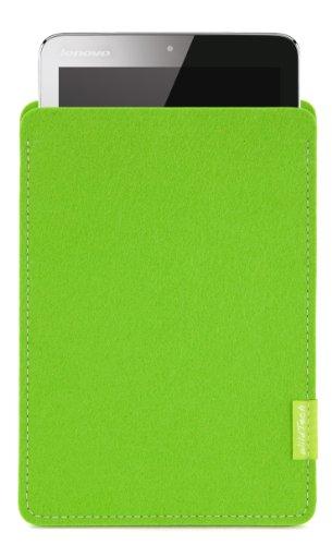 WildTech Sleeve für Lenovo A7-50 Tablet (A3500) Hülle Tasche - 17 Farben (Made in Germany) - Maigrün