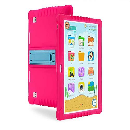 ELLENS Tableta para niños de 10.1 Pulgadas, Tableta Android de 2GB RAM 32GBROM, Pantalla táctil IPS Eye Protection HD, con Estuche a Prueba de niños