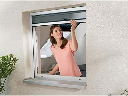 Powerfix Insektenschutz Fensterrollo ohne Bohren Größe kürzbar 130 x 160cm