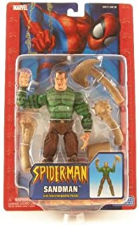 Marvel The Amazing Spider-Man Action Figure Sandman with Interchangeable Hands