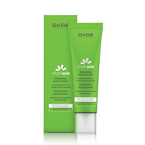 Laboratorios Babé - Stop AKN Crema Facial Hidratante Reparadora 50 ml, Previene la Nueva Formación de Acné, con Manteca de Murumuru, Complementario a Tratamiento Antiacneico