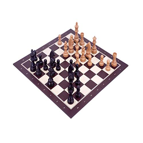 Chess Set Handmade With Board Adults And Kids Folding Game Board And Storage For Board Game