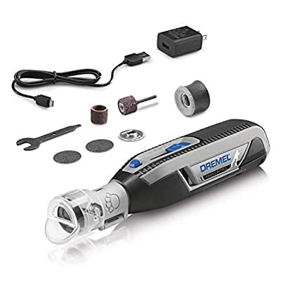 Dremel PawControl Dog Nail Grinder and Trimmer- Safe & Humane Pet Grooming Tool Kit- Cordless & Rechargeable Claw Grooming Kit for Dogs, Cats, and Small Animals 7760-PGK by Bosch