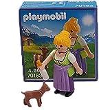 FM Figures Playmobil Chica Granja Milka 70163