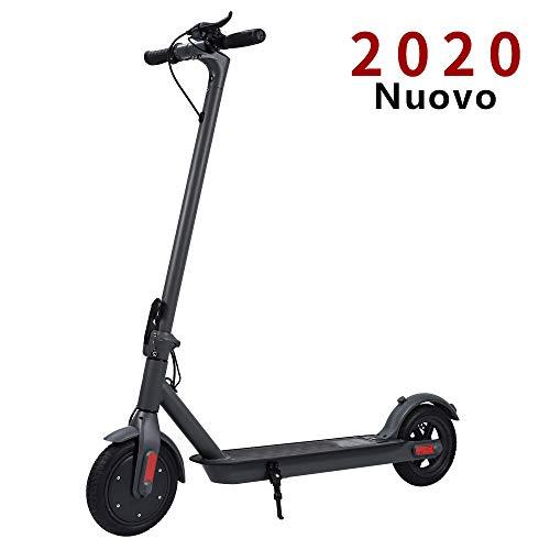 Doogoo Monopattino Elettrico, velocità Massima 25km/h, 20 km di Autonomia, Ruote 8,5'' Pneumatici Pieghevole Scooter per Adulto