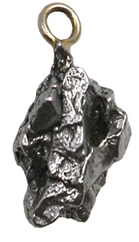 Meteorit Anhänger 1,5 bis 2 cm mit Echtheits-Bestätigung, Sternschnuppe Zertifikat