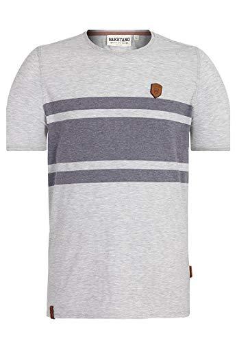 Naketano Herren T-Shirt Haschisch In Der Blutbahn T-Shirt