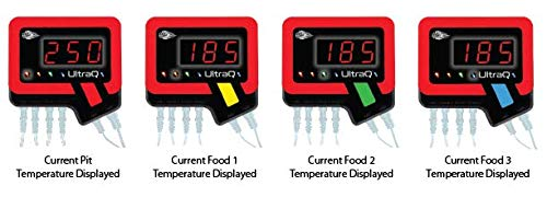 BBQ Guru's UltraQ Bluetooth/Wi-Fi BBQ Temperature Controller Universal Kit for Grills and Smokers