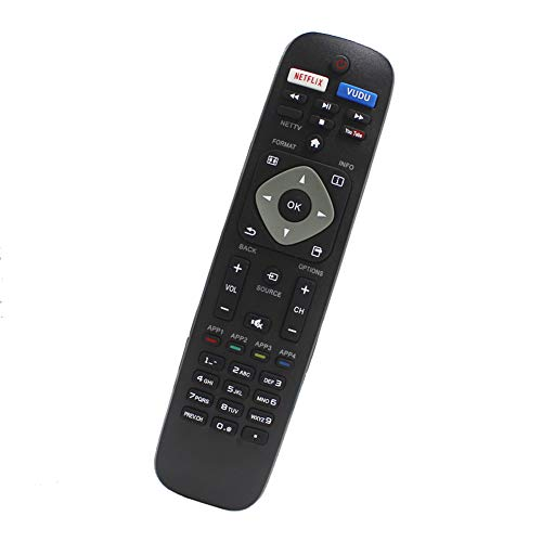 NH500UP Universal Replaced Remote Compatible for Philips 4K Smart TV...