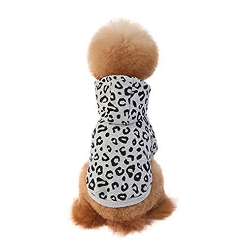 Felenny Perro con Capucha Moda para Mascotas Cálido Otoño Invierno Abrigo Cachorro...