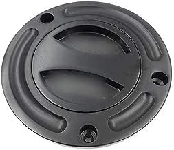 Motorcycle Black Keyless Gas Cap Twist Off Fuel Tank Cap For 1997-2003 Suzuki GSX-R 600// 1996-2003 GSX-R 750// 2001-2002 GSX-R 1000// 1999-2007 Suzuki Hayabusa// SV 650// TLR 1001R XKH