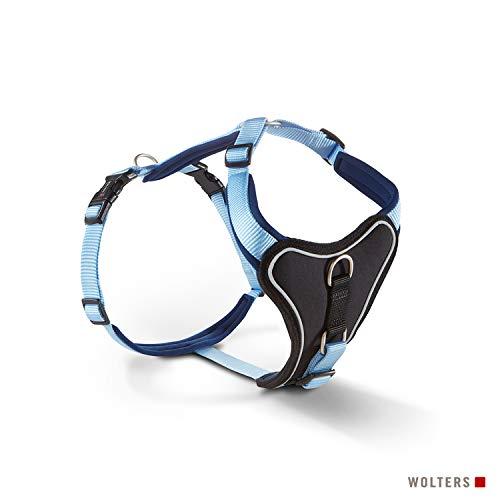 WOLTERS Geschirr Professional Comfort versch. Größen und Farben, Größe:40-45 cm, Farbe:Sky Blue/Marine
