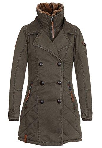Damen Jacke Naketano Averell Bl÷dmann III Jacke Olive XS