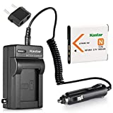 Kastar Battery and Charger Replacement for Sony Sony Cyber-Shot DSC-W710 DSC-W730 DSC-W800 DSC-W810 DSC-W830 DSC-WX10 DSC-WX100 DSC-WX150 DSC-WX200 DSC-WX220 DSC-WX30 DSC-WX7 DSC-WX70 Digital Camera