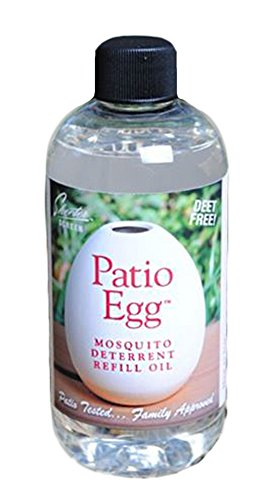 Scent Shop 90602 Skeeter Screen Patio Egg Mosquito Deterrent Refill Oil, 8 Ounces, 1