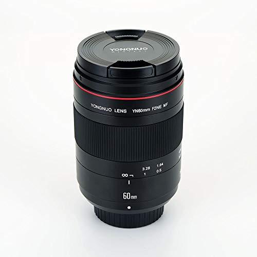 YONGNUO YN60mm F2NE MF - Objetivo Macro para Nikon