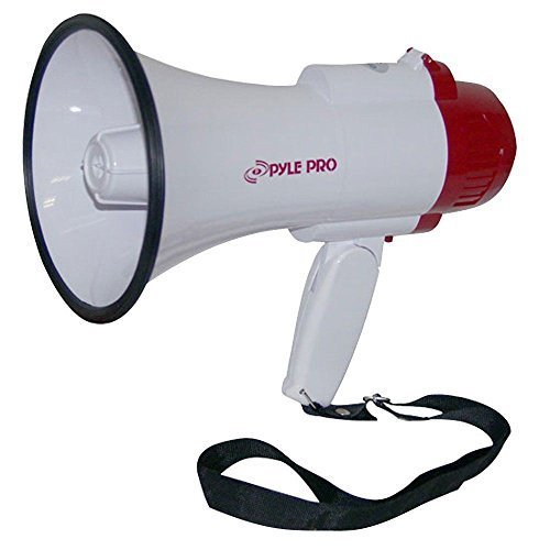 Pyle-pro Pmp35r Professional Megaphone/bullhorn with Siren and Voice Recorder by PylePro