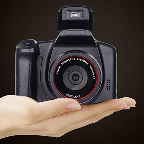 Digitale camera vloggen camera videocamera, 1080P Ultra HD LCD-scherm 2,4 inch 16X digitale zoom, anti-shake cameras…