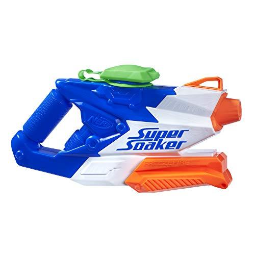 Hasbro Super Soaker B8249EU4 - FreezeFire 2.0 Wasserpistole, mit Eiswürfel-Technologie