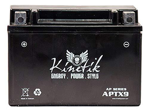 Kinetik 12V 8AH Battery for Kawasaki 636 ZX636-B, C Ninja ZX-6R 2003-2014