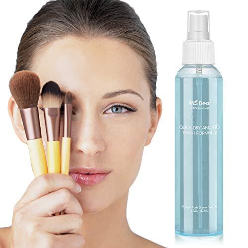 Make Up Pinsel Reiniger, MS.DEAR Pinselreiniger Professionelle Make-up Seife Cleanser Remover Tool, Make up Schwamm Reiniger Beauty Blender Reinigungsflüssigkeit Pinsel Reinigung - 150ML