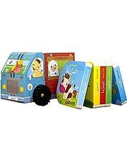 كتاب شاحنتي المكتبية الدوارة 5 كتب قيمة للاطفال الصغار